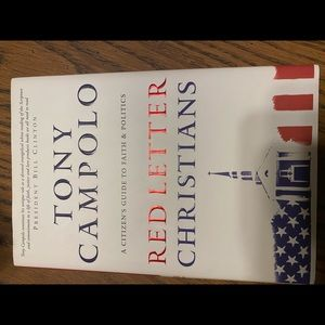 """Other - Used hardback book """"Red Letter Christians"""""""